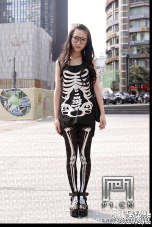 身体装,依身而量,感觉就像是自己的视频骨骼郭震乾骷髅图片