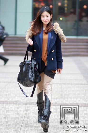 重庆美女时尚街拍 重庆城事