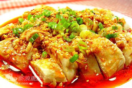 美食厨房:麻辣爽口味美鲜嫩 自制川菜【口水鸡】