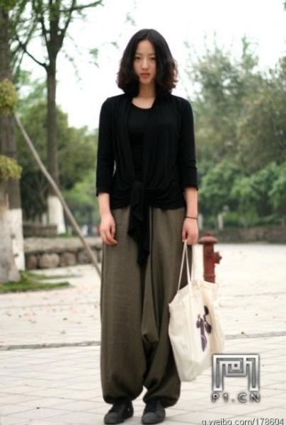 重庆街拍长腿图片气质高质量窈窕美女如云(图大美眉乳房的美女图片