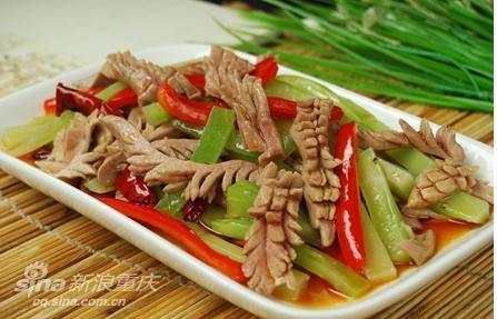 美食厨房:让人食欲大增的川菜【火爆腰花】做法