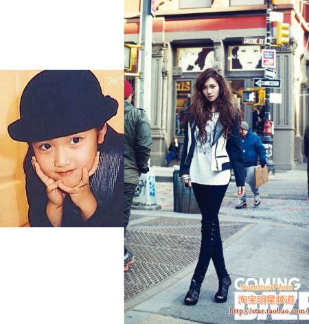 韩国女星超可爱童年照 国民美女金泰熙