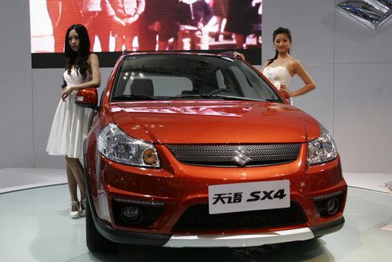 据了解,长安福特经典福克斯在继在北京车展正式上市后首度亮相西部
