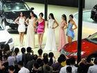 重庆国际车展酷车靓模齐亮相