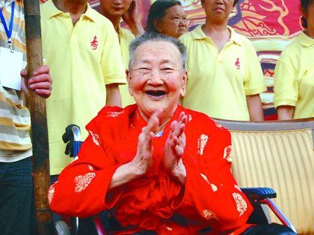 百岁寿星封淑君老人