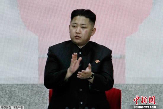 4月11日,朝鲜劳动党在平壤召开第四次代表会议,会议决定推举劳动党中央军事委员会副委员长金正恩为第一书记,同时宣布拥戴已故最高领导人金正日为永远的总书记。(视频截图)