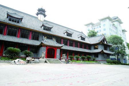 """重庆大学""""一教楼"""""""