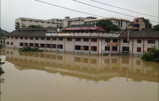 31年来最大洪峰过境,磁器口18天内连淹两次