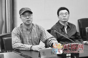 四川外语学院,莫言文学作品座谈会上,川外中文系副教授晏红发言