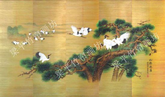 幼儿园创意竹签画