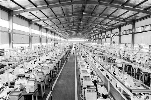 电子工业洁净生产车间设计平面图