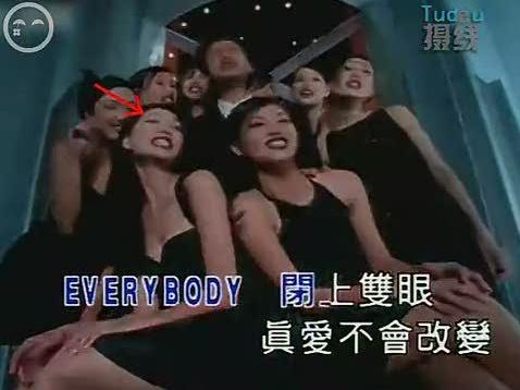 林志玲14年前出道MV被翻出 与张国荣合作
