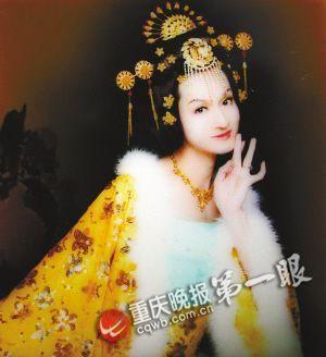 朱洙的杨贵妃扮相