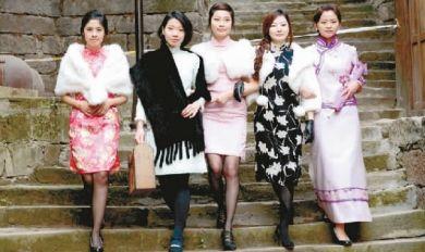 旗袍美女民国范儿