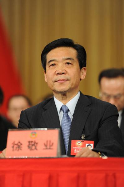 徐敬业当选重庆市政协主席
