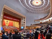 全国政协十二届一次会议开幕式