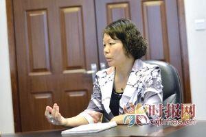 市地震局监测预报中心副研究员郭卫英接受本报记者专访