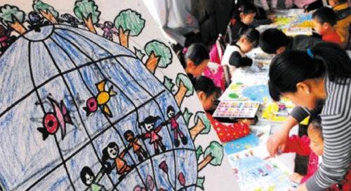 小孩手工制作大全 图片节约粮食