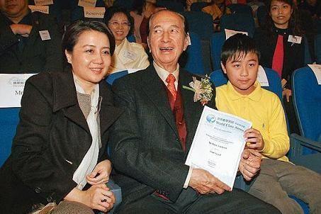 """何猷君十一岁时,曾参加""""世界数学测试精英邀请赛""""获奖"""