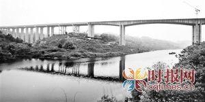 重庆:沿江高速有望国庆前后通车 到涪陵只要40分钟