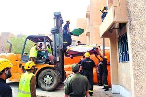沙特610公斤男子_20岁男子重610公斤要动用起重机把他吊出送医_新浪重庆新闻_新浪