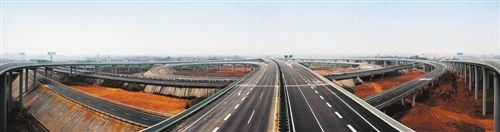 乐雅高速公路乐峨段张徐坝立交。