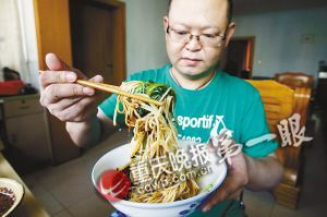 小面达人一年吃了120家面馆