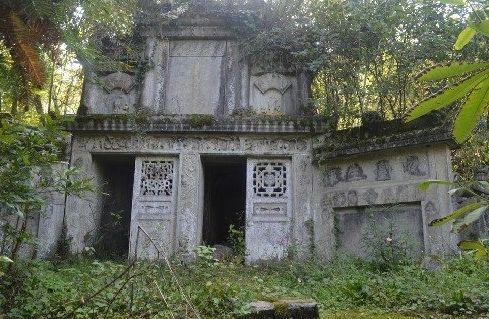 重庆武隆现清代古墓