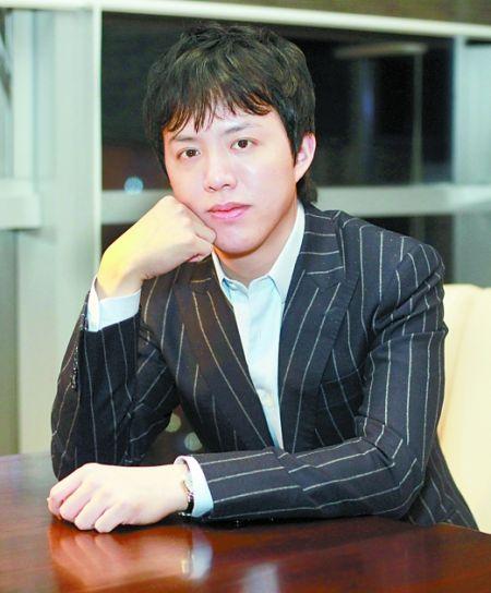 李云迪接受记者采访