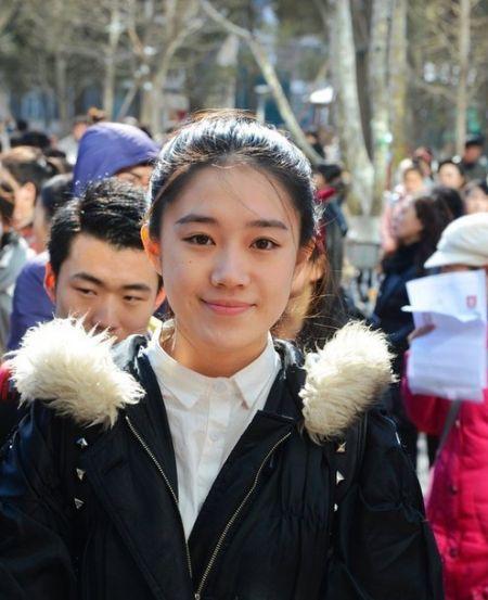 2014艺考季各地美女集锦组图