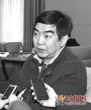 全国政协委员、重庆市审计局副局长丁时勇