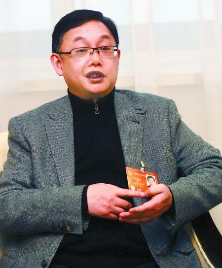 全国人大代表杨宏伟。