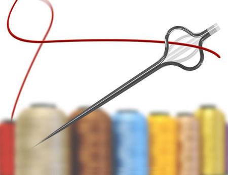 创新的缝纫针