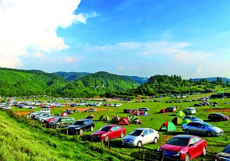 仙女山是游人休闲度假的好去处