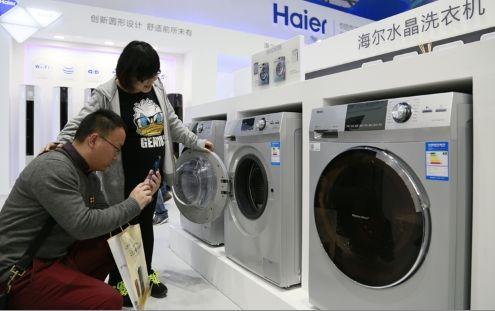 准妈妈白女士:滚筒洗衣机下排水设计更健康