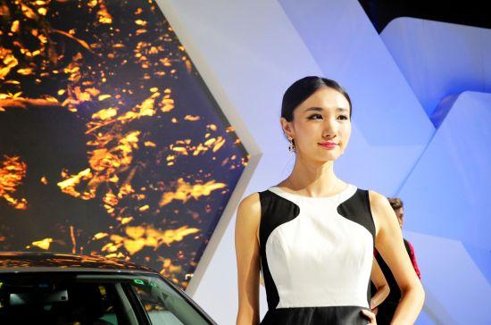 上海大众汽车车模——琳琳