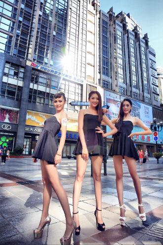 亚洲模特黄金比例身材标准