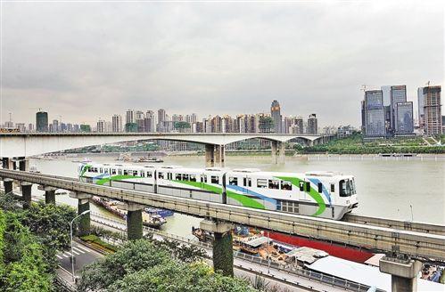 我市首条采用单轨技术的轨道交通2号线
