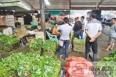 观农贸蔬菜市场月底谢幕。
