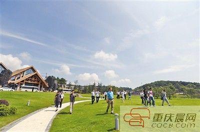 江北区铁山坪观景平台