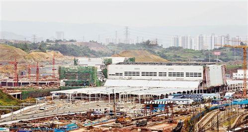 重庆北站扩建工程有序推进