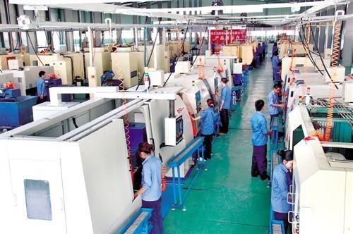 重庆罡阳机械制造生产车间