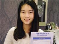 重庆女孩被美国顶级高校提前录取 她如何做到的?
