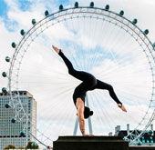 城市瑜伽:人体与建筑的融合