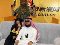 """""""阿拉伯酋长""""莅临西部动漫节"""