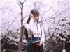 武大女神赏樱花照
