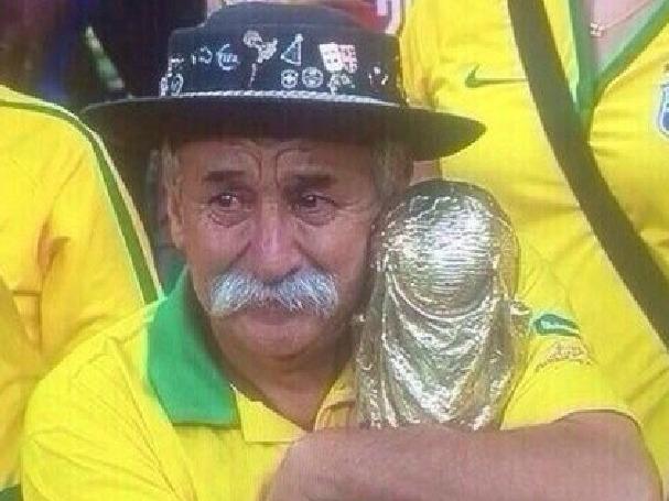 世界杯上的眼泪