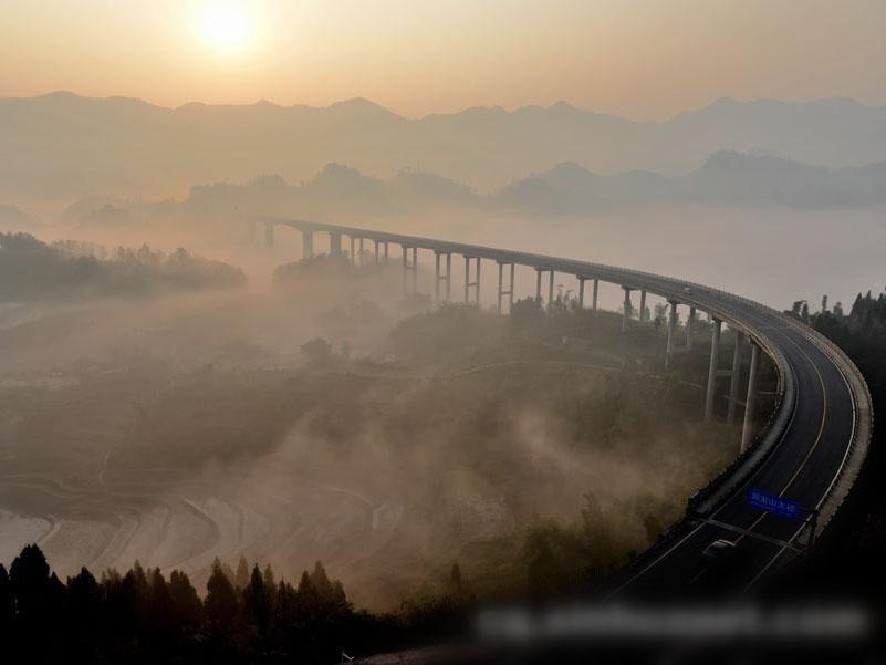 重庆初冬绝美仙境
