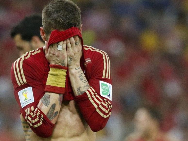 西班牙被淘汰出局