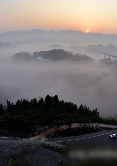 重庆:初冬仙境美如画